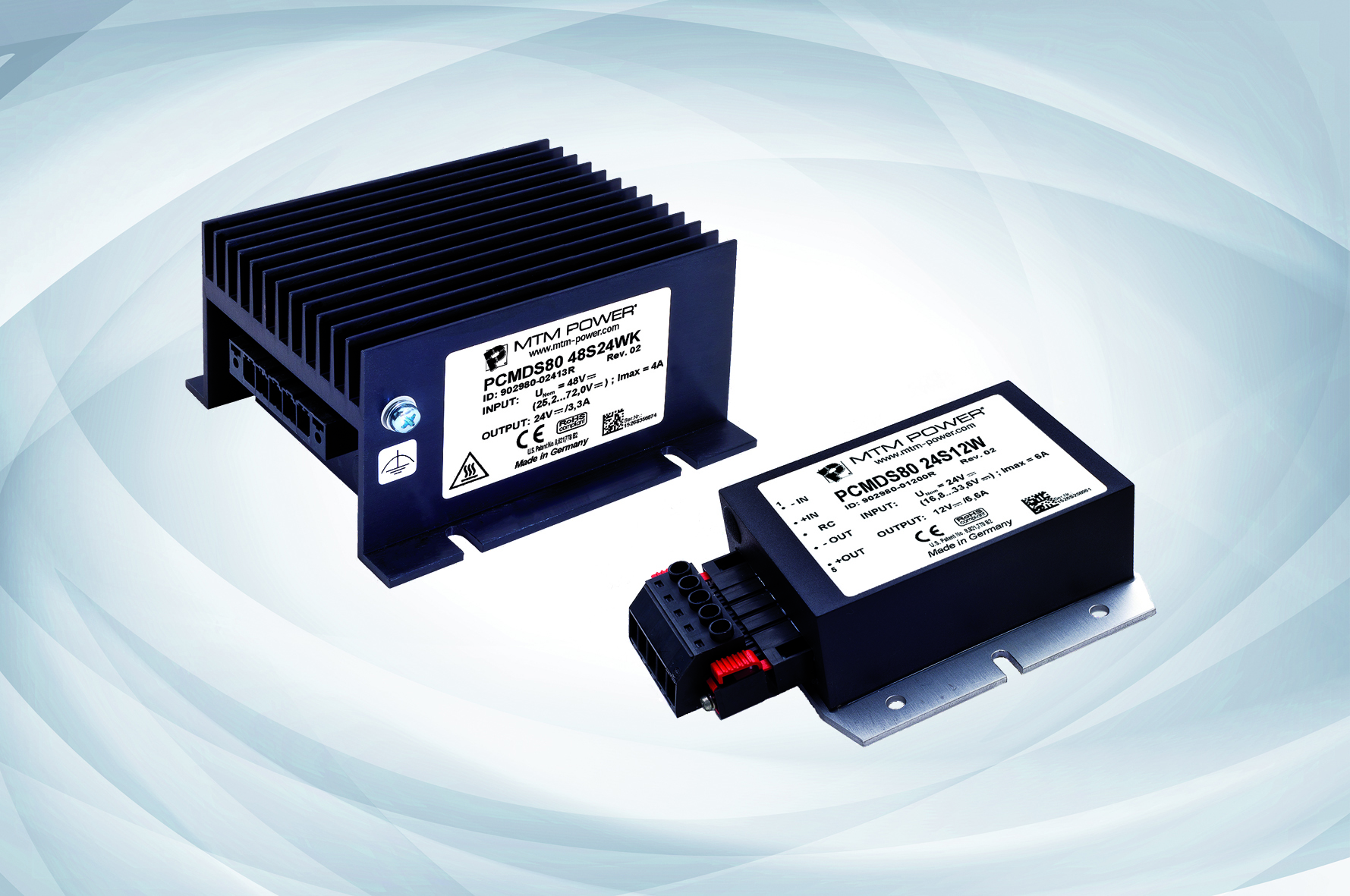 Press Releases Potato Battery Dc Circuits Electronics Textbook The Converters Pcmds80 From Mtm Power Are Specially Designed As Decentralised Supplies In Vehicles And For Supplying Closed Sub Systems